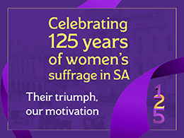 Celebrating 125 years of women's suffrage in SA