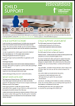 A thumbnail image of the printable Child Support Factsheet