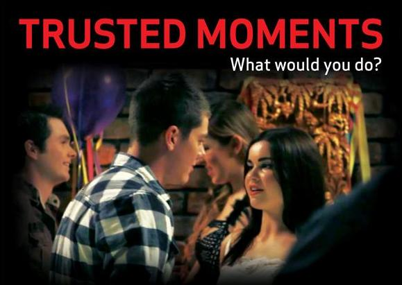 click to watch the trusted moments trailer