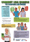 Community Legal Education for Young People & Workers Poster