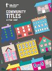 Community Titles Booklet