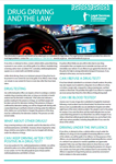 Drug Driving and the Law Factsheet
