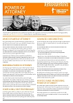 Power of Attorney Factsheet